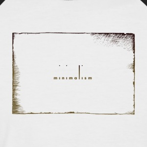 minimalist - Men's Baseball T-Shirt