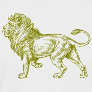Golden Lion - Männer Baseball-T-Shirt