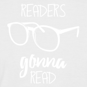 Readers go read Readers - Men's Baseball T-Shirt