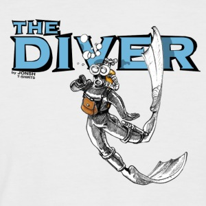 the_diver - Männer Baseball-T-Shirt