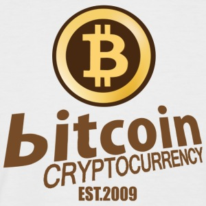 Bitcoin Cryptocurrency - Men's Baseball T-Shirt