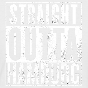 Straight Outta Hamburg - T-shirt baseball manches courtes Homme