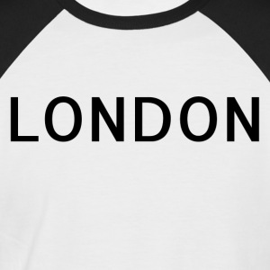 Londres - T-shirt baseball manches courtes Homme