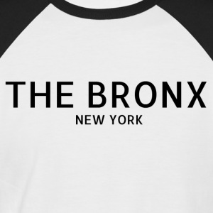 The Bronx - Kortermet baseball skjorte for menn