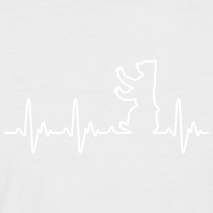 Heartbeat Berlin - Men's Baseball T-Shirt