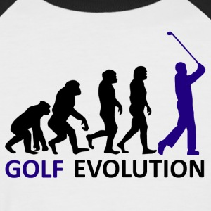 ++Golf Evolution++ - Männer Baseball-T-Shirt