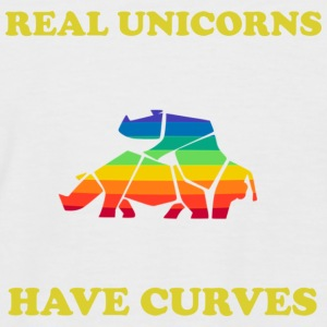 Real Unicorn Gold - T-shirt baseball manches courtes Homme