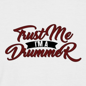 Trust Me Im A Drummer - Drummer Passion - T-shirt baseball manches courtes Homme