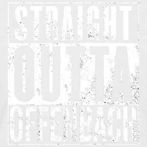 Straight Outta Offenbach - T-shirt baseball manches courtes Homme
