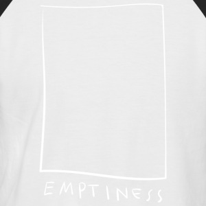 Emptiness - vide - T-shirt baseball manches courtes Homme
