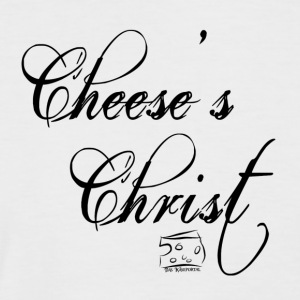 Christ de fromage - T-shirt baseball manches courtes Homme