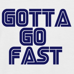 Gotta Go Fast - Men's Baseball T-Shirt