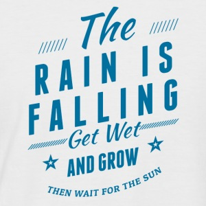 The Rain is falling - Men's Baseball T-Shirt