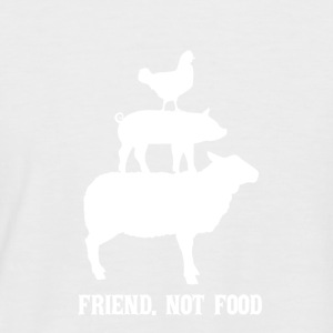 Friend. Not food - Men's Baseball T-Shirt