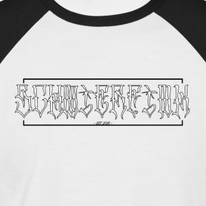 Schmierfink - Latino Style (graffiti) - Men's Baseball T-Shirt