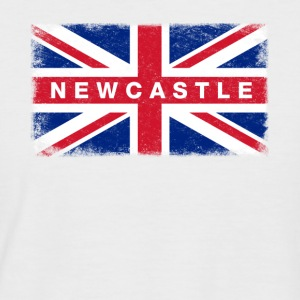 New Castle Shirt Vintage United Kingdom Flag - Men's Baseball T-Shirt