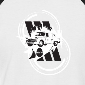 ninho-taxi - Men's Baseball T-Shirt