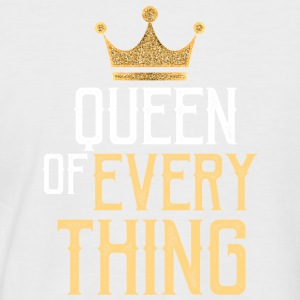 Queen of everything - Männer Baseball-T-Shirt