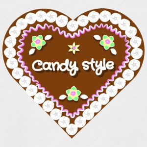 Candy style - Men's Baseball T-Shirt
