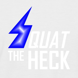 Lightning squat - Men's Baseball T-Shirt