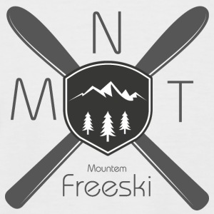 MNT Freeski - Kortermet baseball skjorte for menn