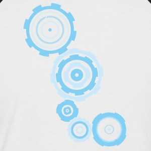 gear blue - Men's Baseball T-Shirt