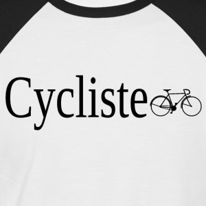 Cycliste - T-shirt baseball manches courtes Homme