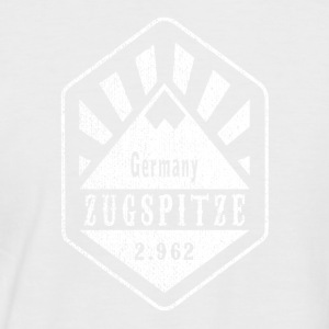 Zugspitze coat of arms - white - Men's Baseball T-Shirt