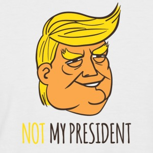 Not My President - Men's Baseball T-Shirt