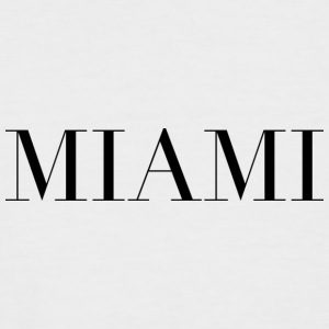 Miami - T-shirt baseball manches courtes Homme