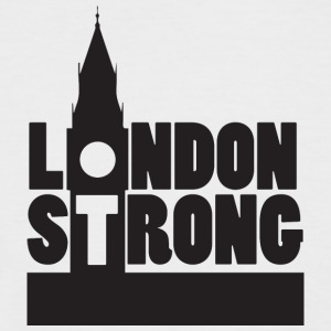 London Strong III - Kortermet baseball skjorte for menn