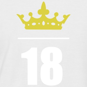 Finally 18!! - Men's Baseball T-Shirt