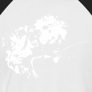 Angel Vector - Männer Baseball-T-Shirt