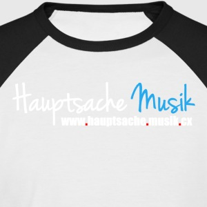 Mainly music Logo - Men's Baseball T-Shirt