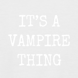 it's a vampire thing - Men's Baseball T-Shirt