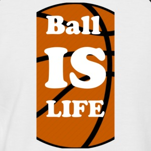 Ball is Life Basketball Limited - Mannen baseballshirt korte mouw