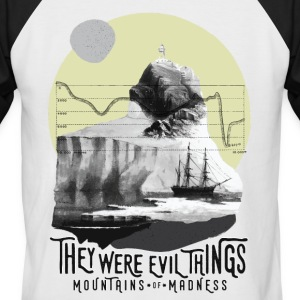 Mountains Of Madness - Mannen baseballshirt korte mouw