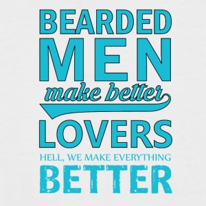 Bearded Men - Men's Baseball T-Shirt