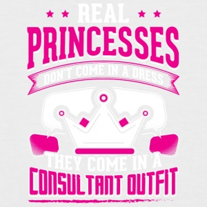 REAL PRINCESSES consultant 1 - Männer Baseball-T-Shirt