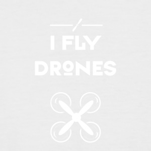 drone fly Quadrocopter pilote hélice de vol d'air - T-shirt baseball manches courtes Homme