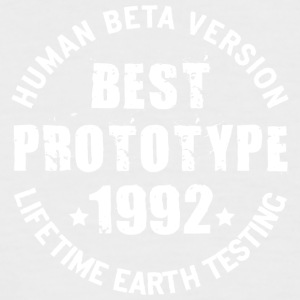 1992 - The birth year of legendary prototypes - Men's Baseball T-Shirt
