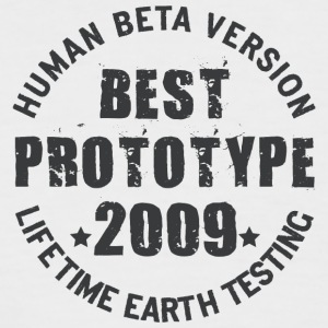 2009 - The birth year of legendary prototypes - Men's Baseball T-Shirt