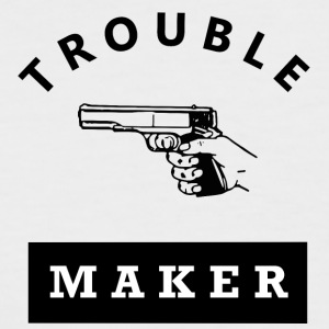 Troublemaker - Männer Baseball-T-Shirt