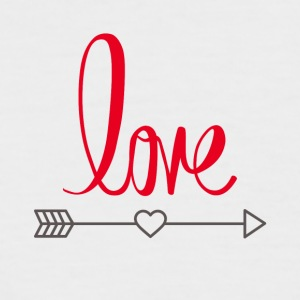Love design - Men's Baseball T-Shirt