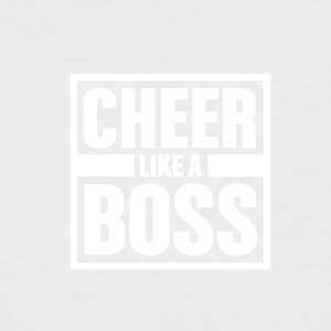 Cheer like Boss - Cheerleading - Men's Baseball T-Shirt