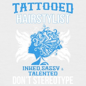 TATTOOED HAIRSTYLIST - Männer Baseball-T-Shirt