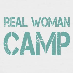 REAL WOMAN CAMP - Men's Baseball T-Shirt