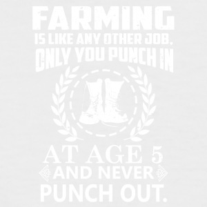 Farming - Men's Baseball T-Shirt