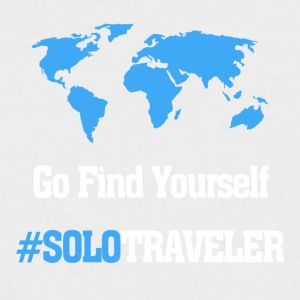Go Find Yourself, SoloTraveler - Men's Baseball T-Shirt