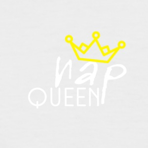 Nap Queen - Kortermet baseball skjorte for menn